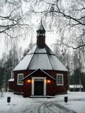An old church in Umeå