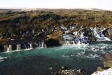 Hraunfossar - waterfall without a river first!