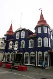 A cafe in Akureyri (northern Iceland)