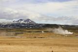 Geysers, steam pots etc. at Hverir near Mývatn