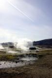 Hot springs at Geysir site