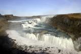 Gulfoss impressive waterfall