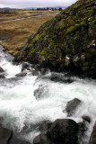 Waterfall that 'criminal' women used to be executed in (Þingvellir national park)