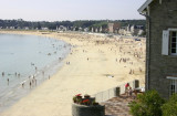 Beach volleyball in Brittany (Bretagne), 2004