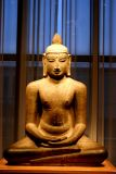 Buddha sits peacefully, Art Institute of Chicago