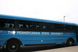 Bus of footballers, Penn State University