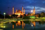 Dusk, Blue Mosque, Istanbul