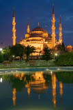 Reflections, Blue Mosque, Istanbul