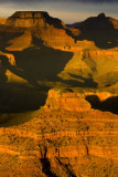 Grand Canyon - The sun is now toying with us