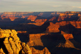 Canyon, On fire, Grand Canyon National Park