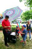 The Amazing Josh - balloon maker, Long Grove