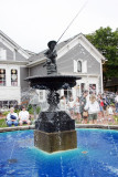 The village square, Long Grove