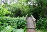 Bridge across the stream, Long Grove
