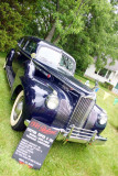 The 1941 Packard Touring limousine, Car Show, Long Grove