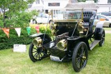 1907 Franklin Model G Roadster - check out the head lamps!, Car Show, Long Grove