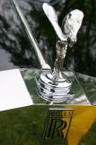 Rolls Royce emblem - from a 1977 Wraith 2, Car Show, Long Grove