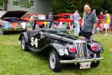 1954 MG TS Roadster, Car Show, Long Grove