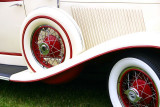 White and Red, Car Show, Long Grove