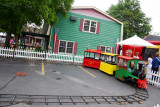 Toy trains still in use, Strawberry Festival, Long Grove