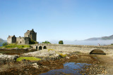 Eileen Donan Castle - Dornie with the moat, Scotland