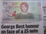 Soccer hero George Best