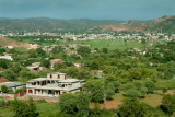 Bhimber city in background
