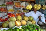 Fruit vendor in Dadyal
