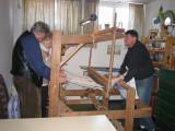 Weaving room