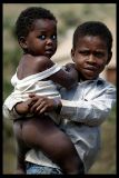 Young boy and little brother, Cachaca - Sao Nicolau