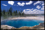 Thermic pool - Yellowstone USA 2000