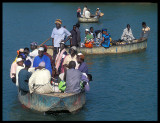 Crossing River Gambia at Basse