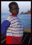 Boy waiting for fishermen - Bakau