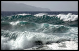 Waves outside Ribeira Grande - The Azores 2006