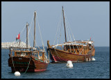 Dhow - a traditional Arabic ship