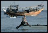 Waiting for fellow fishermen - Sur Oman 2004