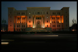 Roadside building - The beautiful headquarters of Oman International Bank