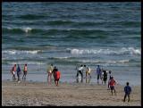 Beach football att Salalah