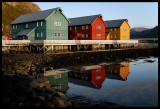 Harbour houses in Lauvsnes
