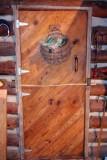 Cabin door, inside 7389