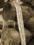 Rope and log ends 0647