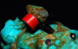 Turquoise Frog - Bead Detail