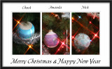 2006 Merry Christmas Triptych