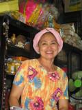 Shopkeeper on Hair Wash Day