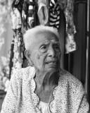 Elderly  Lady Begging