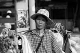 Clothes seller at Jean Tiem