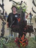 Marsha Heckman with her display .. 3911