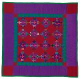 096: Double Nine Patch, Lancaster County, PA c. 1930 82.5x82.5