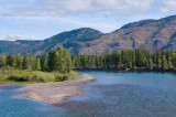 Rivers in and near Glacier National Park