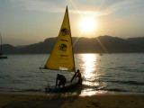 Sailing when the sun goes down