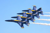 Blue Angels  tucked in tight